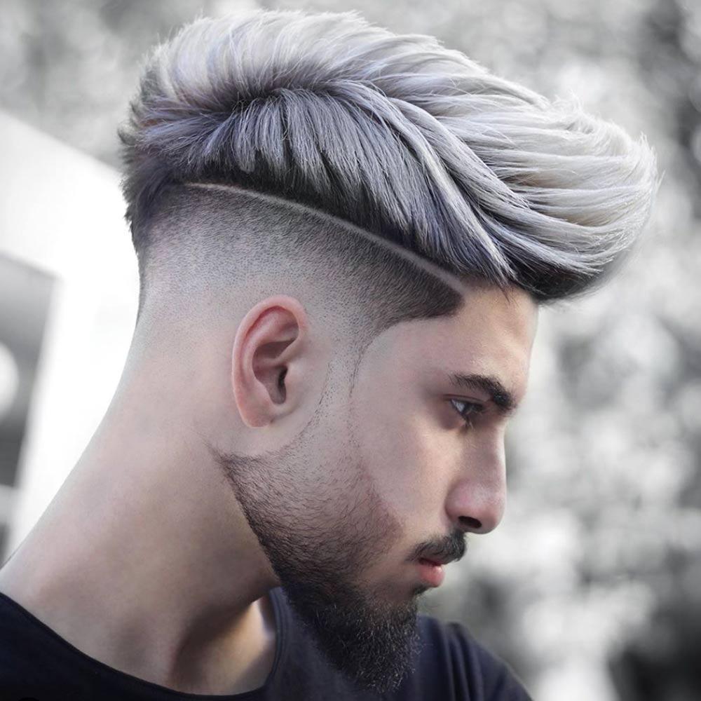 Hombre de pelo corto
