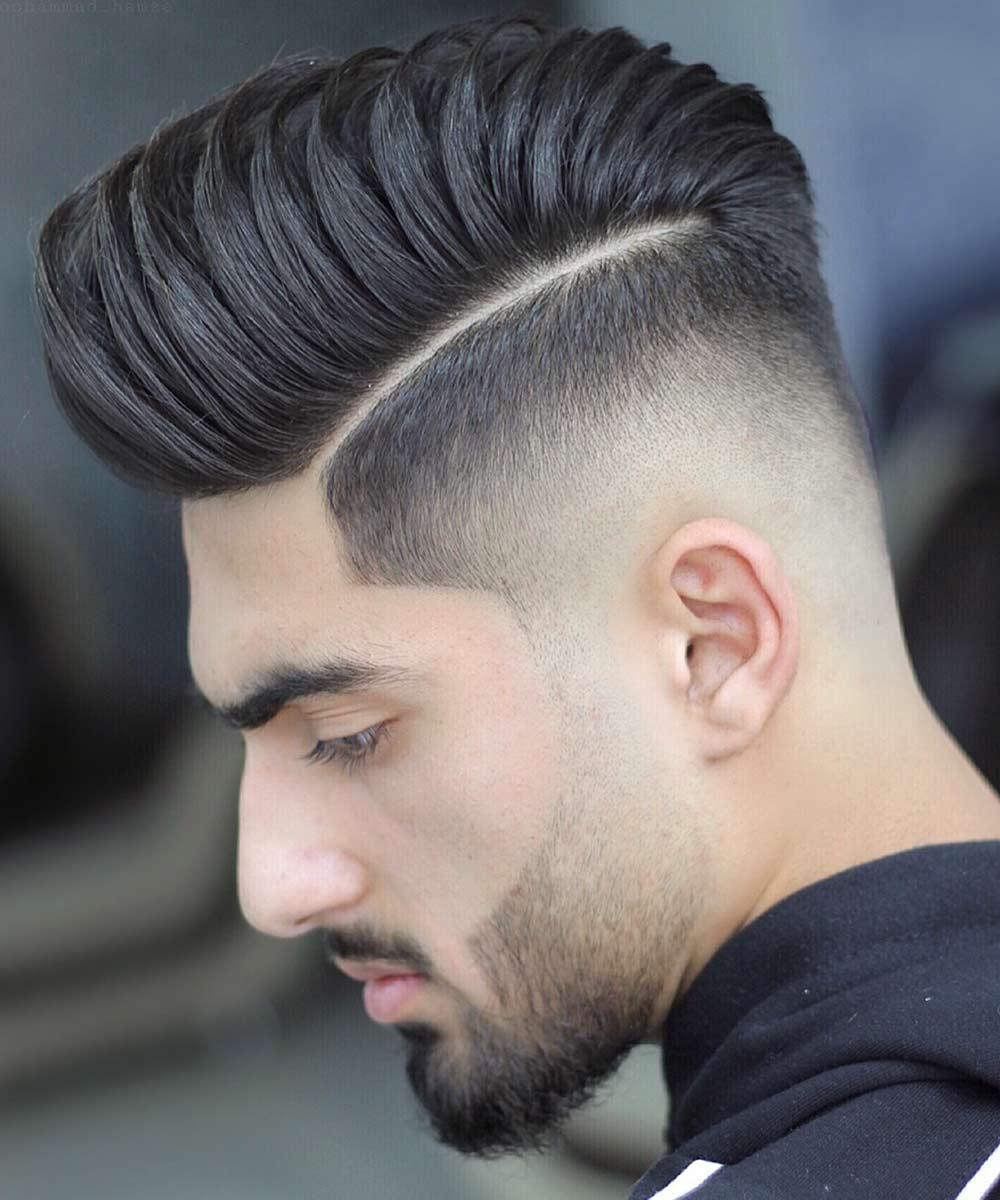 Cortes de pelo corto hombre quiff