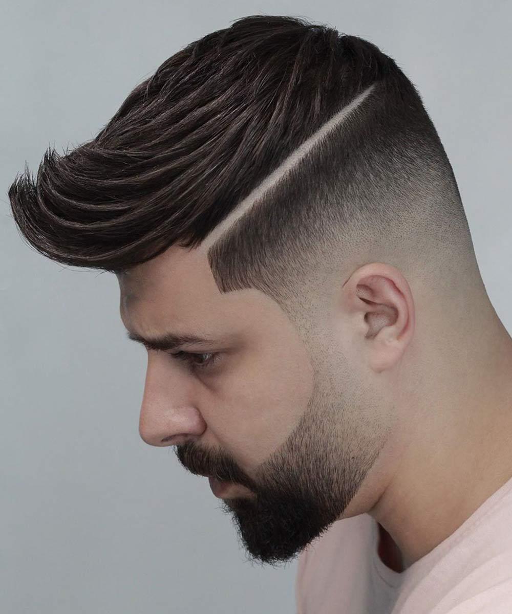 Cortes de pelo corto para hombres sombreados