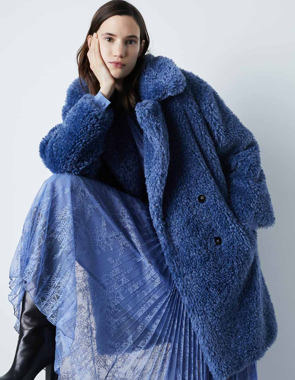 Abrigos de osos de peluche otoño invierno dos mil veinte dos mil veintiuno