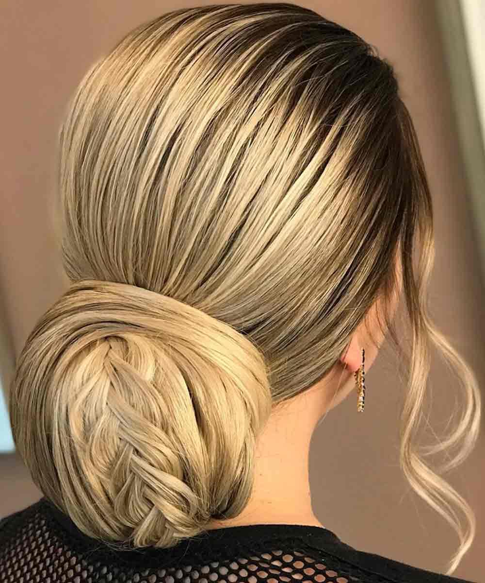 Estilo de cabello peinado