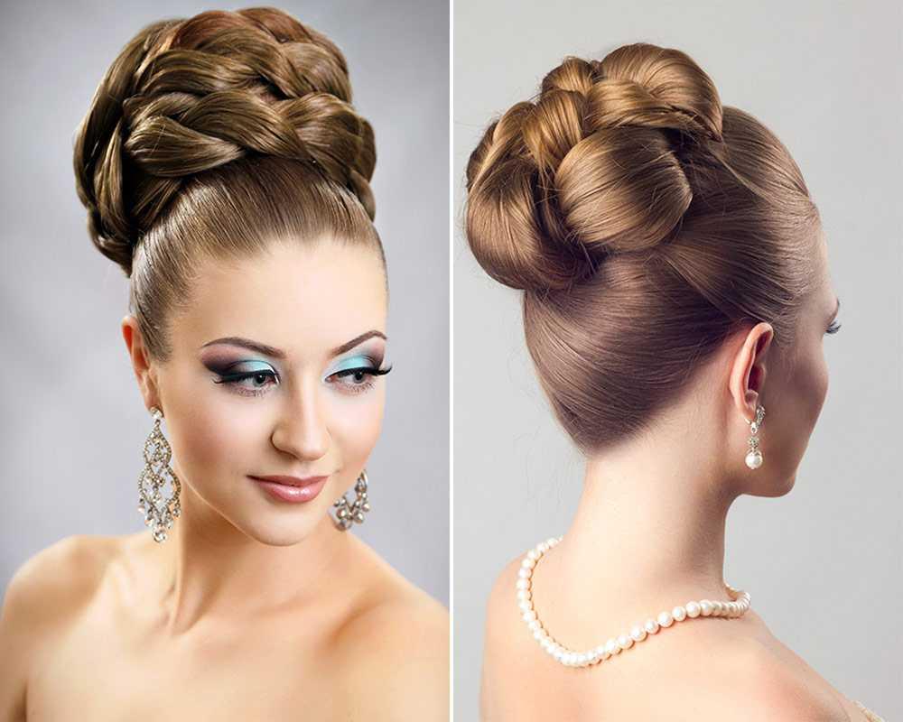 Peinado elegante para la ceremonia
