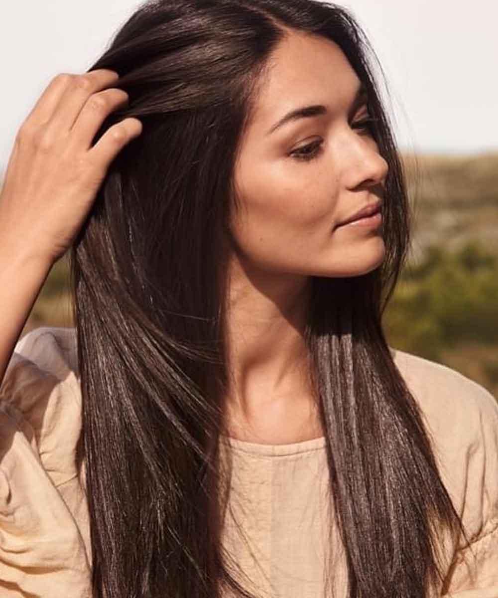 Color de pelo marrón chocolate verano