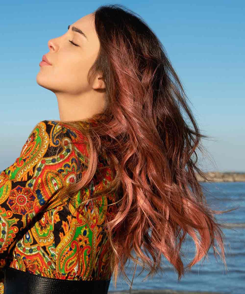 Color de pelo de verano sunset illuminage
