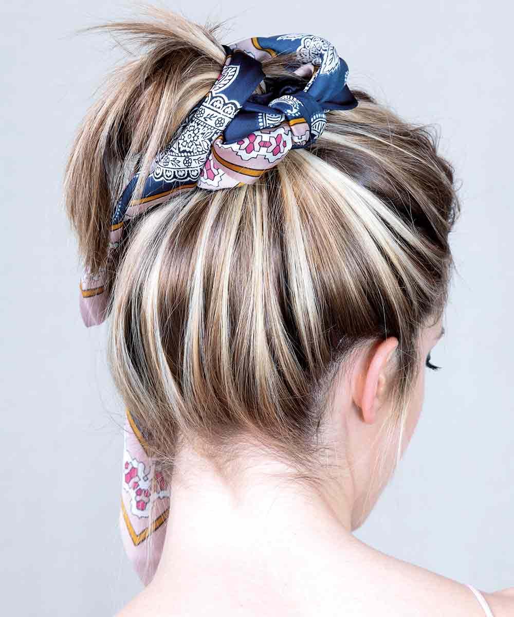 Peinado verano 2021 color de pelo Enmarcado soleado
