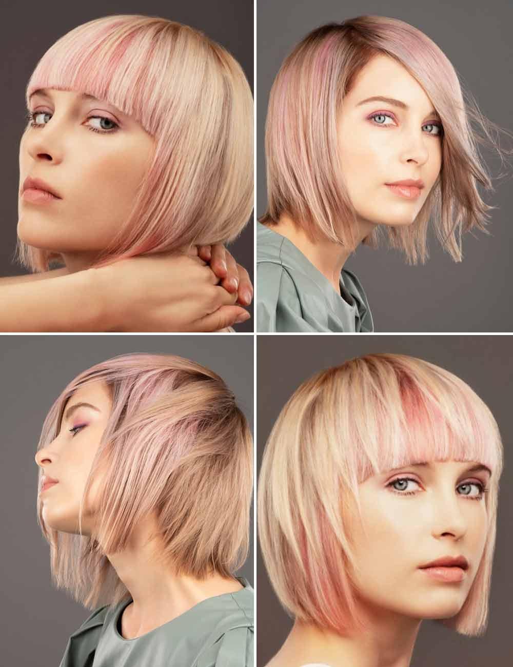 Destaca el pelo rosa