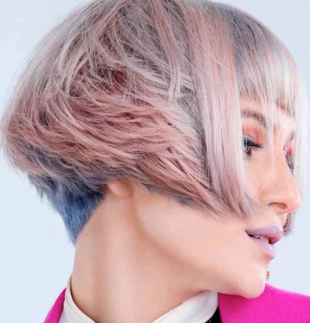 Pelo rosa azul 2021