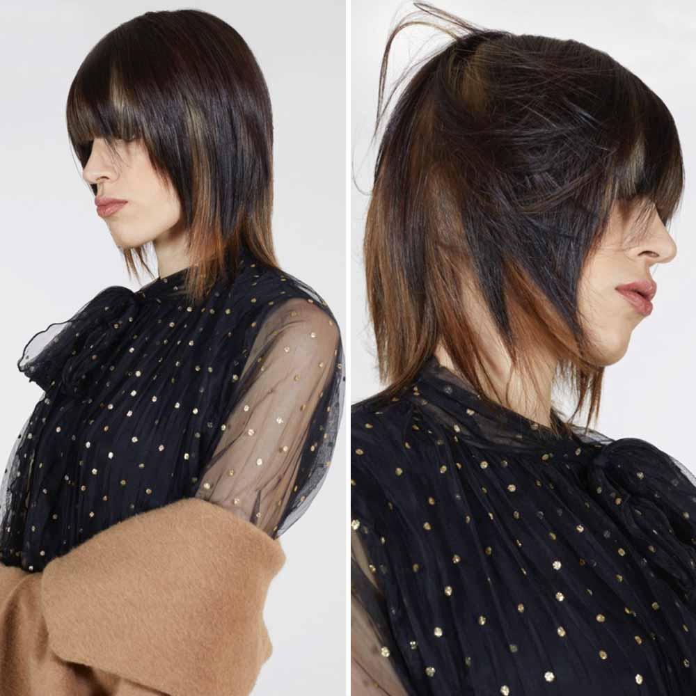 Color de pelo rubio moka mechas invierno 2021