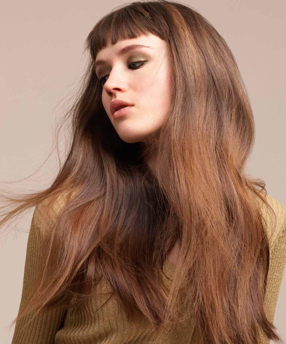 Color de pelo castaño brillante 2021