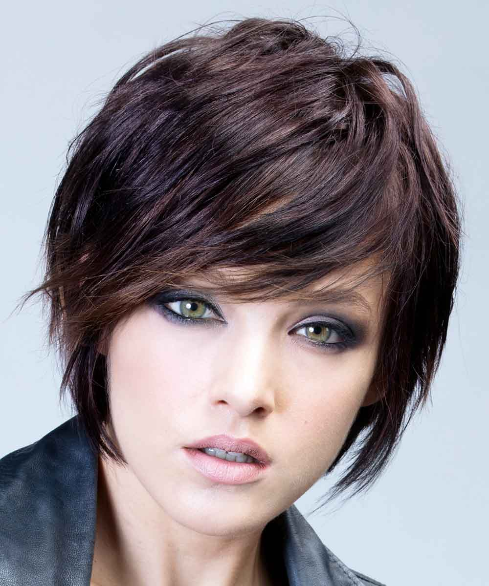 Color de pelo castaño rojizo invierno 2020