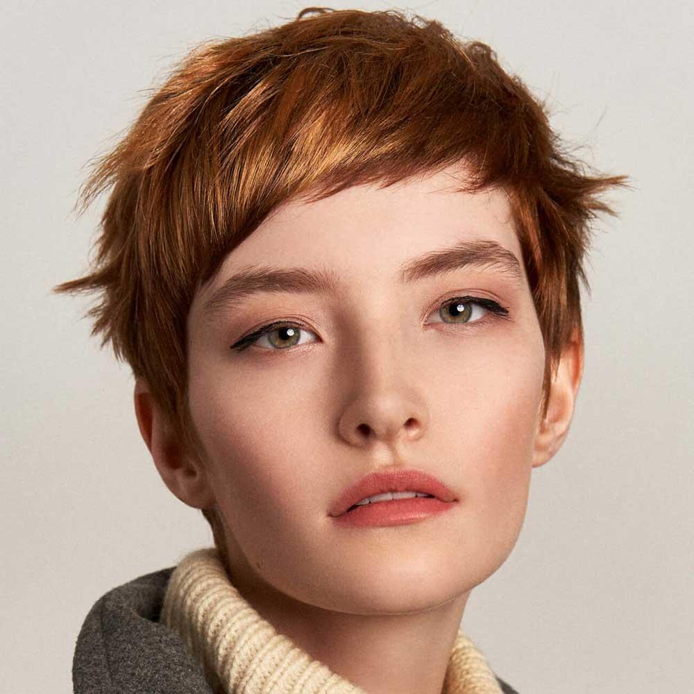 Color de pelo castaño rojizo invierno 2021