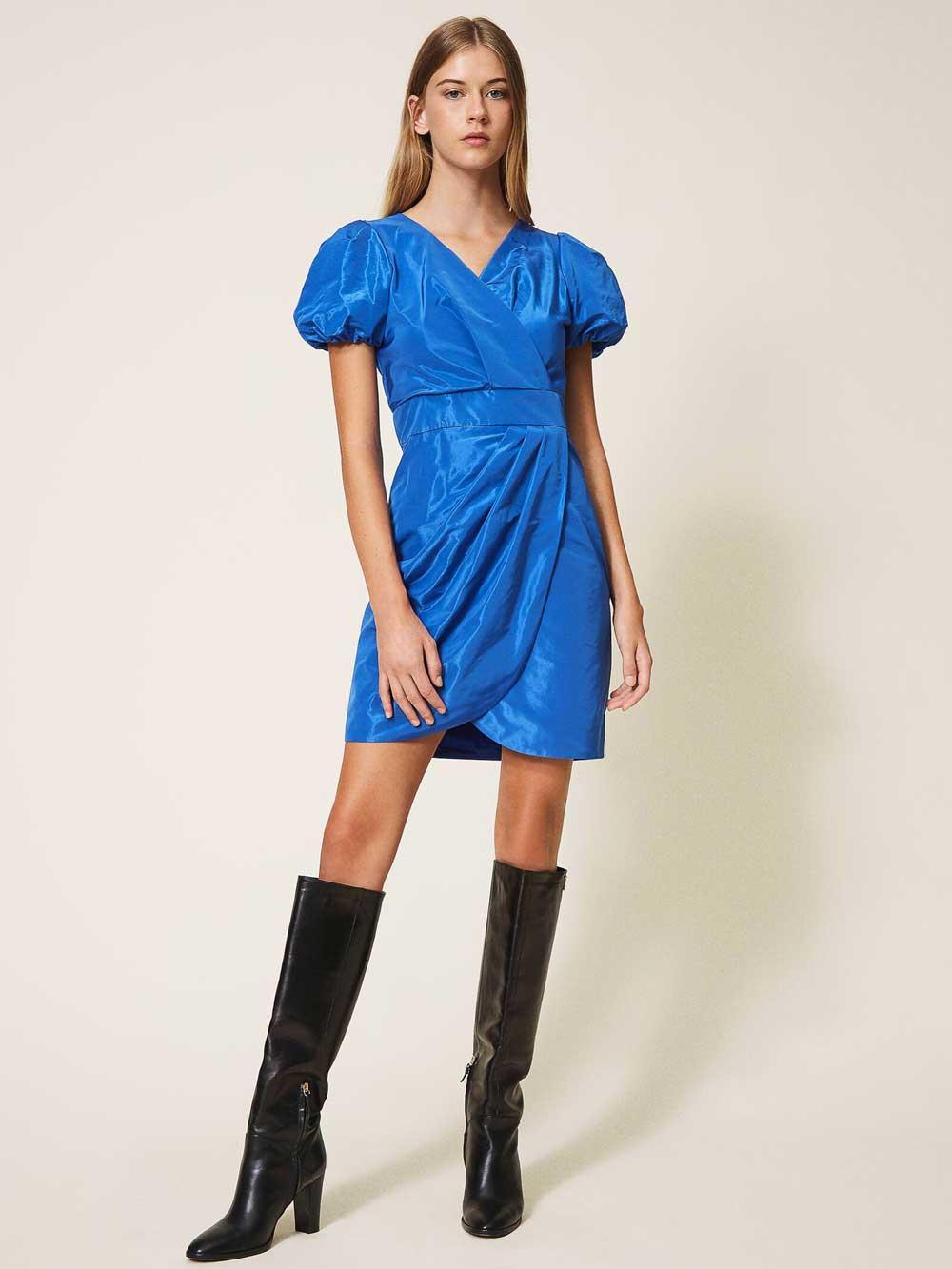Vestido corto azul Twin Set