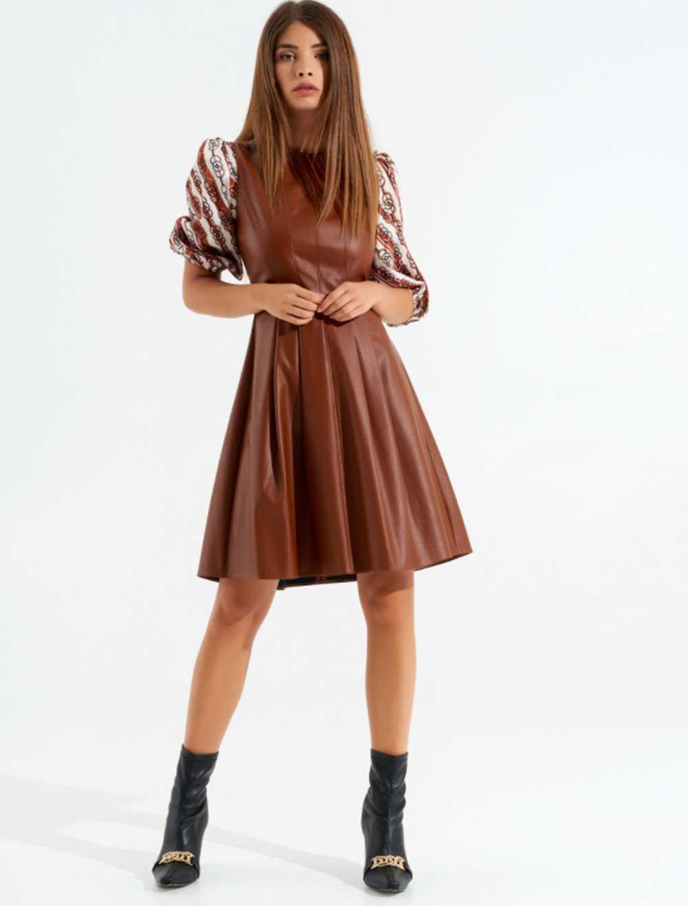 Vestido Rinascimento marrón oscuro