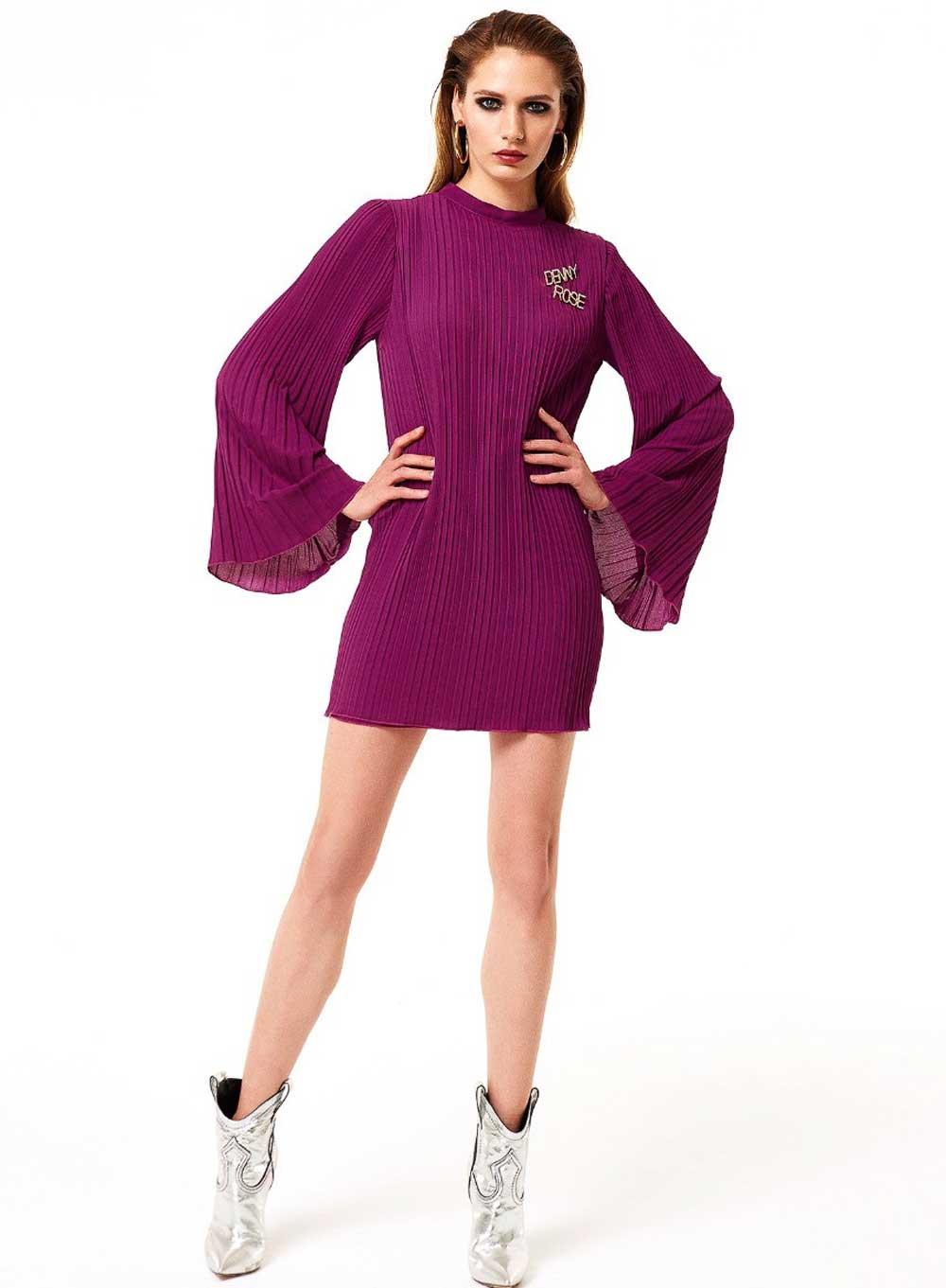 Colores de moda púrpura invierno 2021