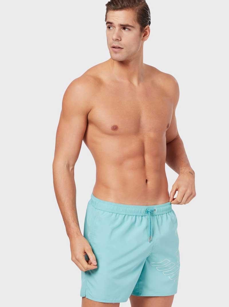 Pantalones cortos marinos Armani hombre