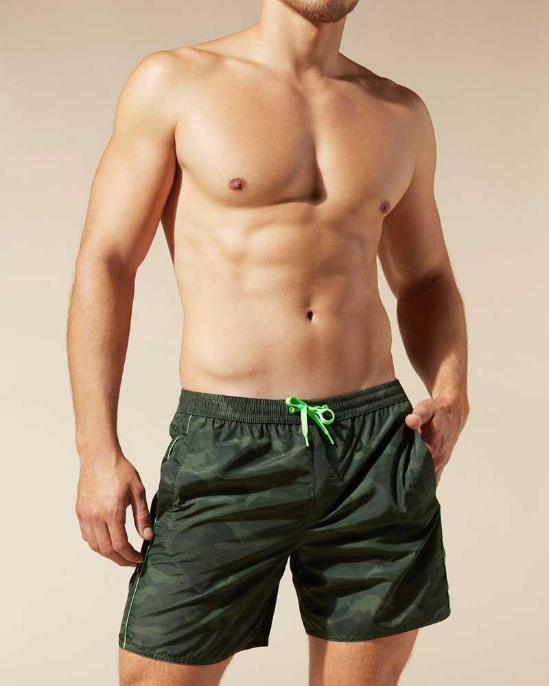 Pantalones cortos de playa Calzedonia para hombre