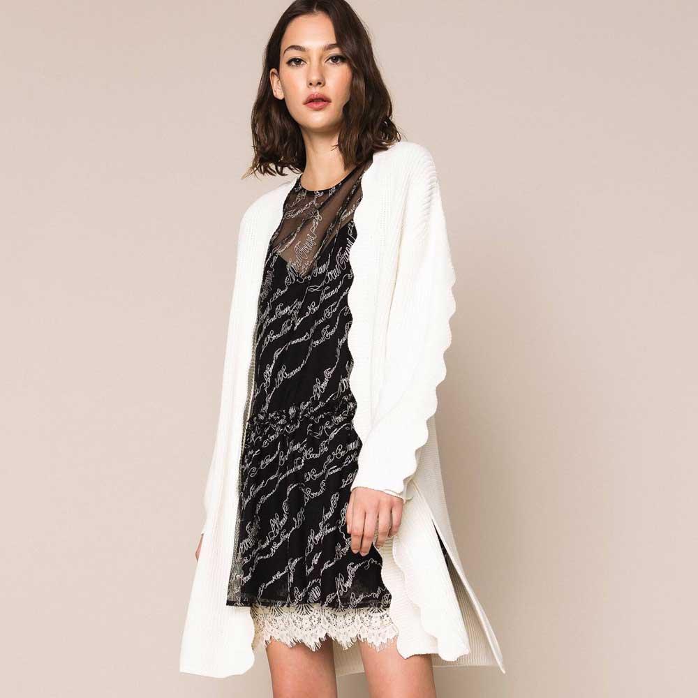 maxi vestido blanco para la noche