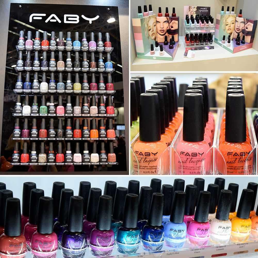 Esmaltes de uñas Faby Cosmoprof