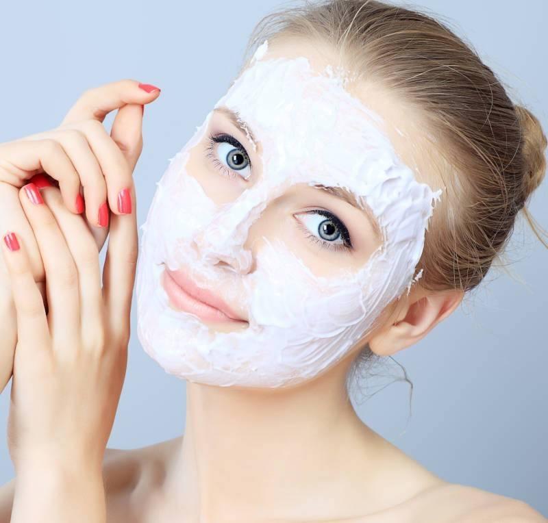 Mascarilla facial DIY para pieles sensibles
