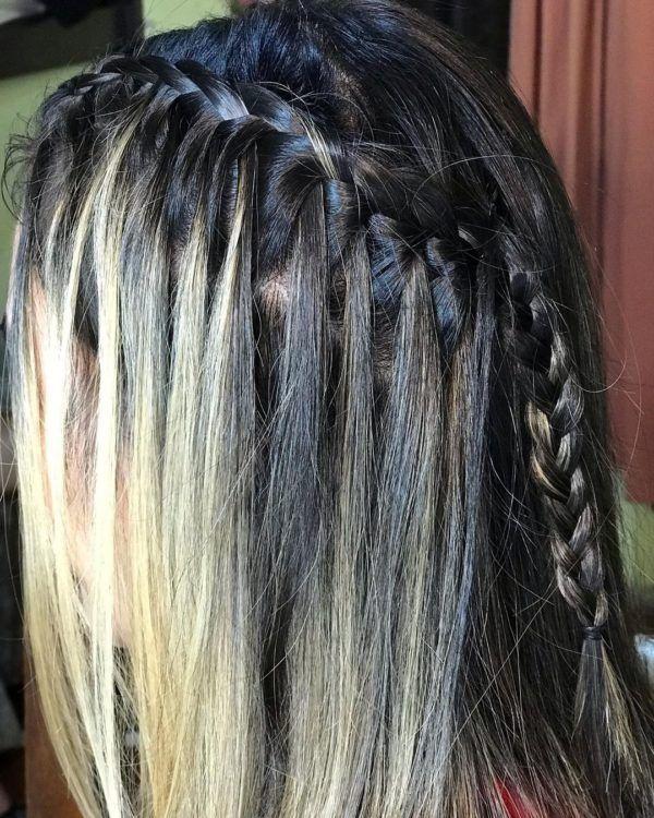 Peinados de moda tik tok trenza en cascada