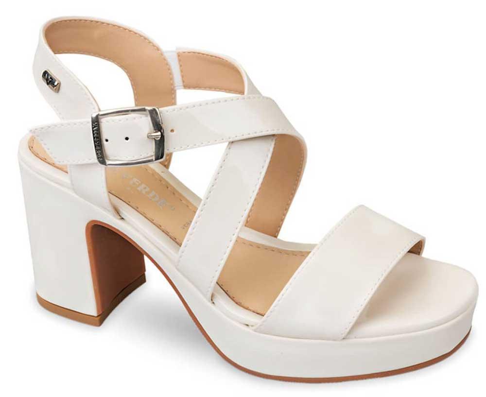 sandalias de plataforma para novias