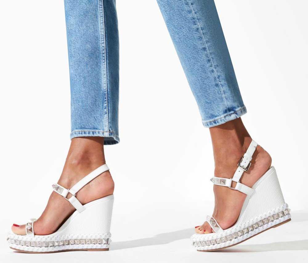 zapatos de boda de cuña cómodos 2021