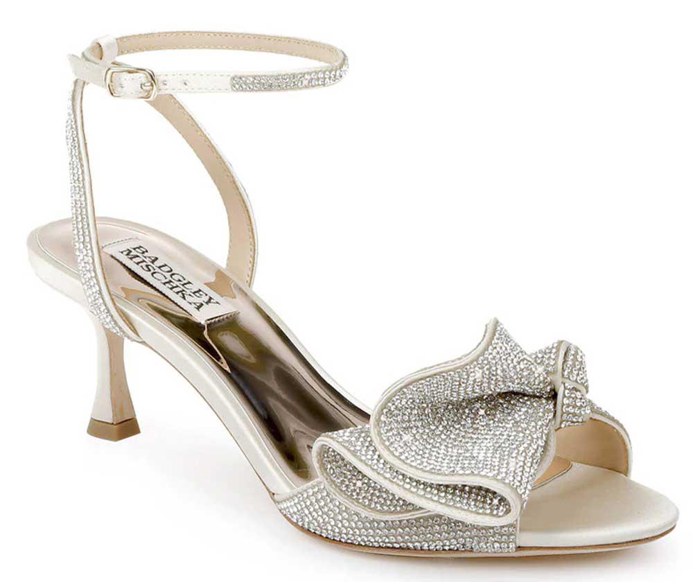 sandalias de novia joya