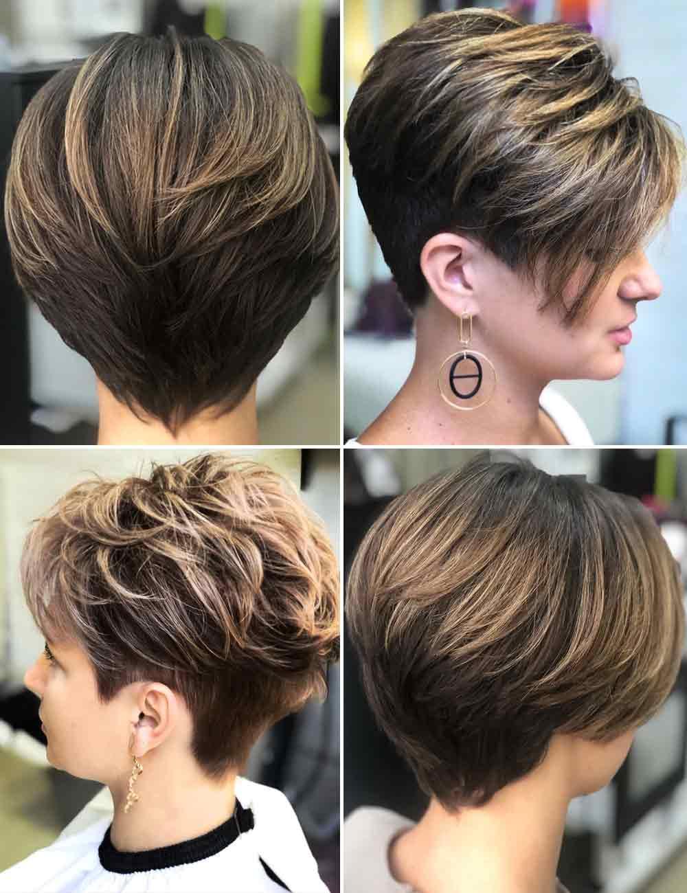 Abrigos de pelo corto para mujer 2021 invierno