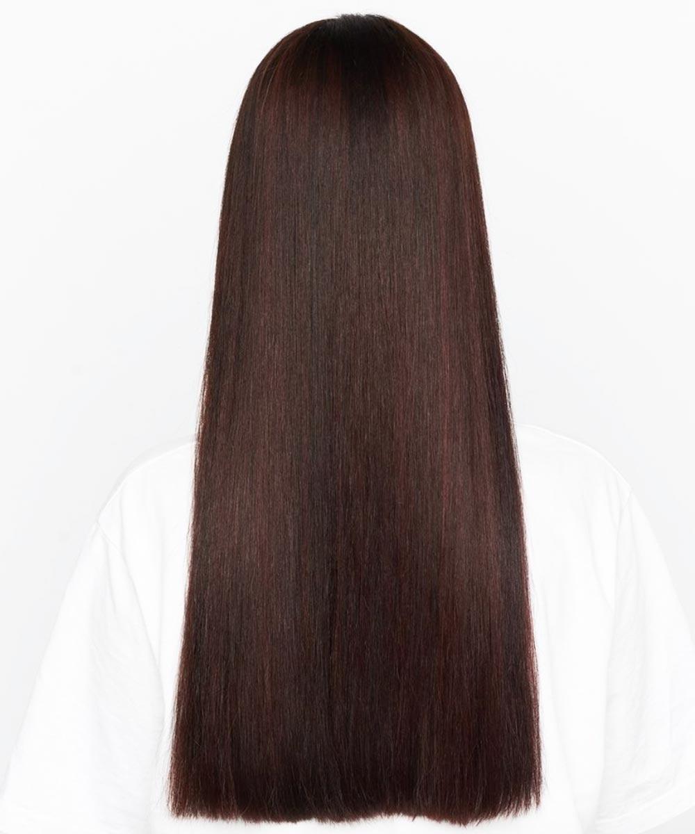 El pelo largo y liso corta incluso el verano 2021