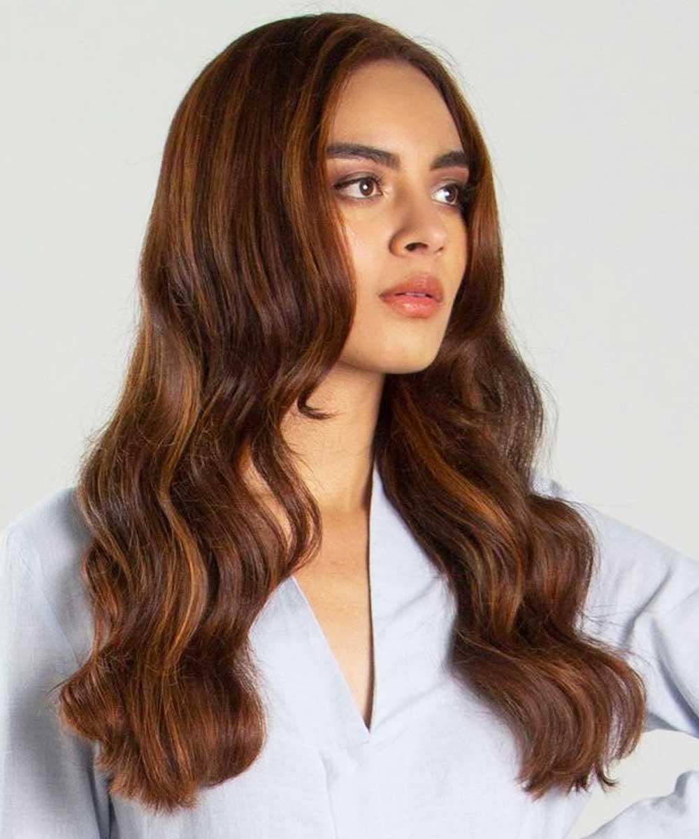 Corte de pelo largo y ondulado hasta el verano 2021