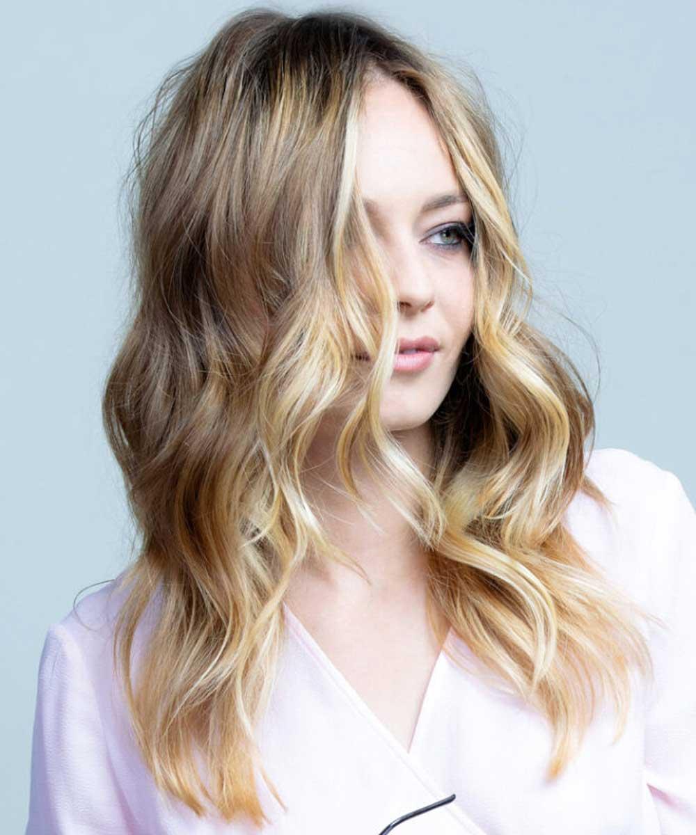 Cortes de pelo largo cuero cabelludo ondulado verano 2021