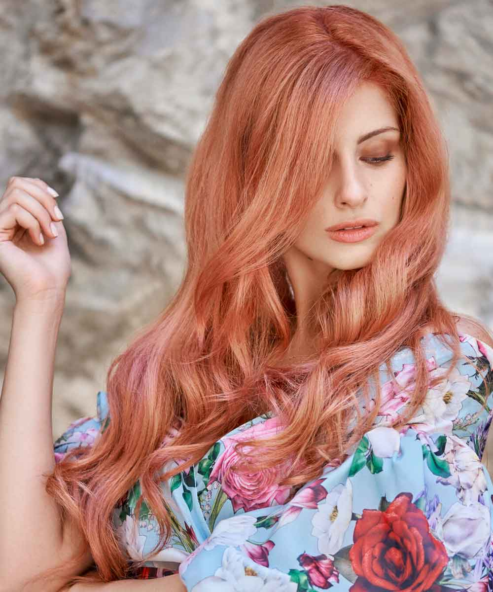 Cortes de pelo largo y ondulado para el verano
