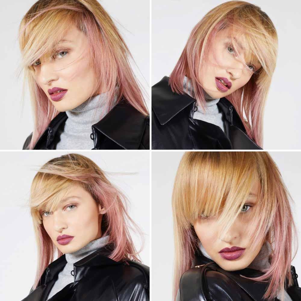 Peinados medios con flequillo invierno 2021