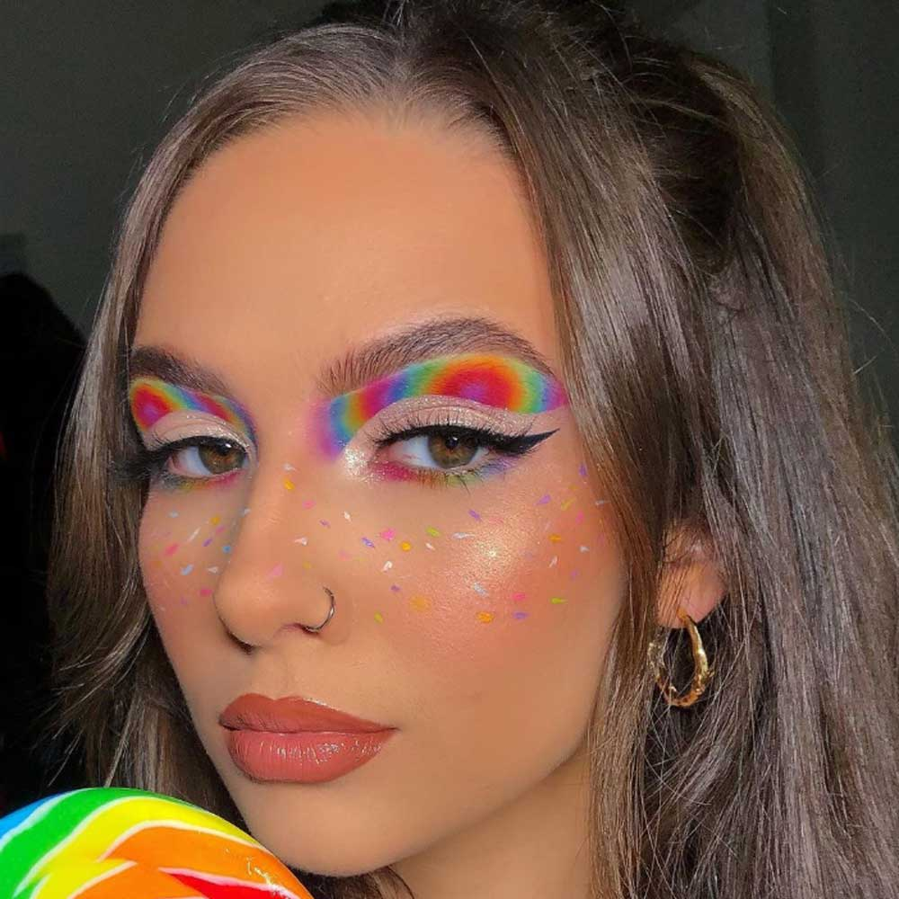 Maquillaje Ojos de Orgullo