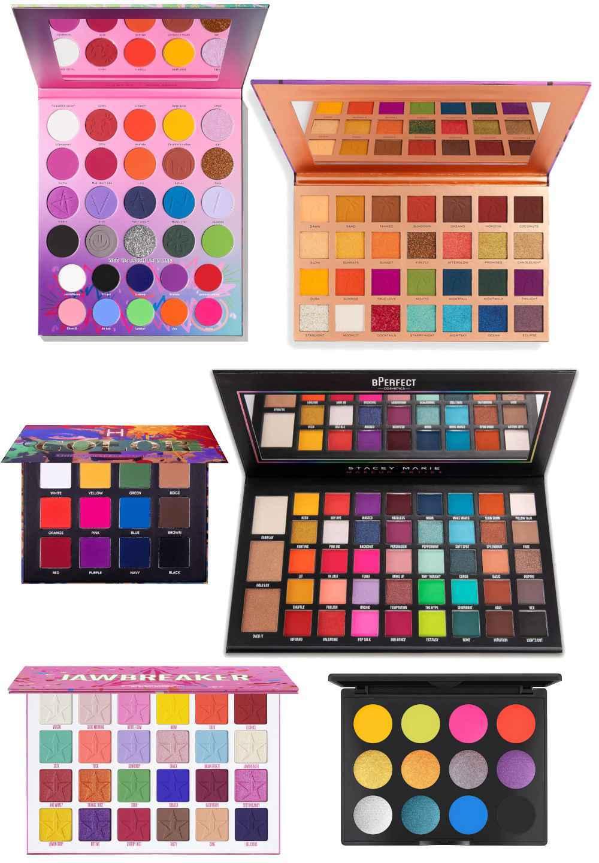 Paleta de maquillaje Rainbow Eyes
