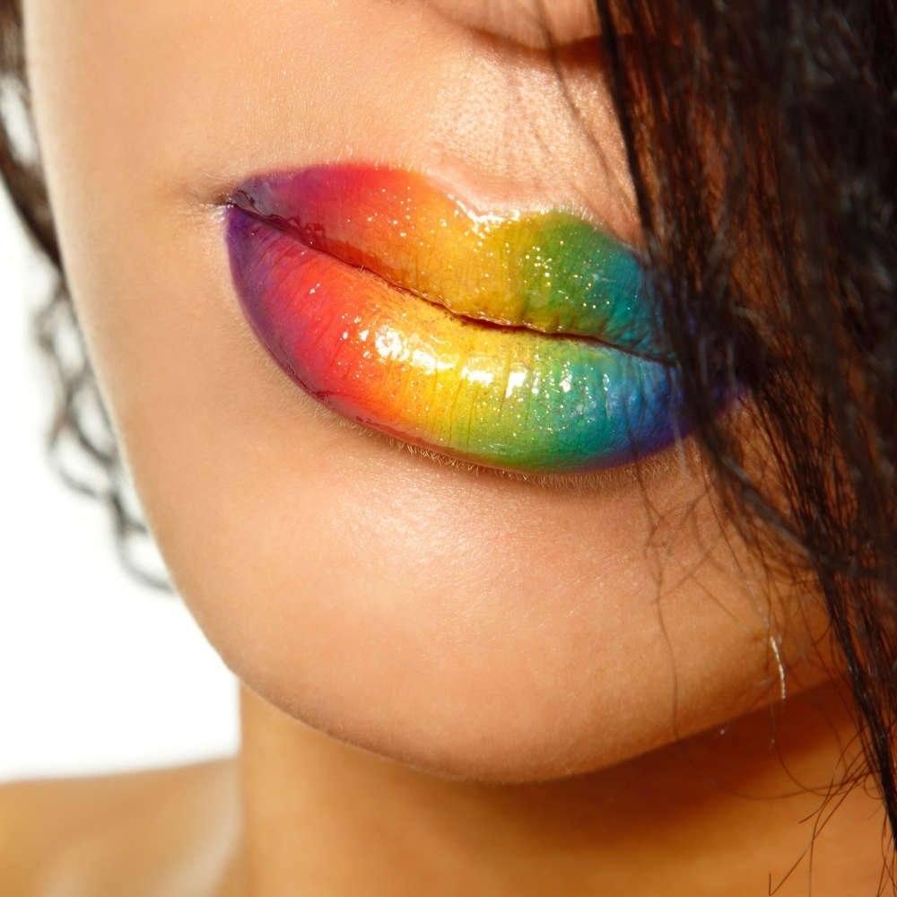Labios Arco Iris