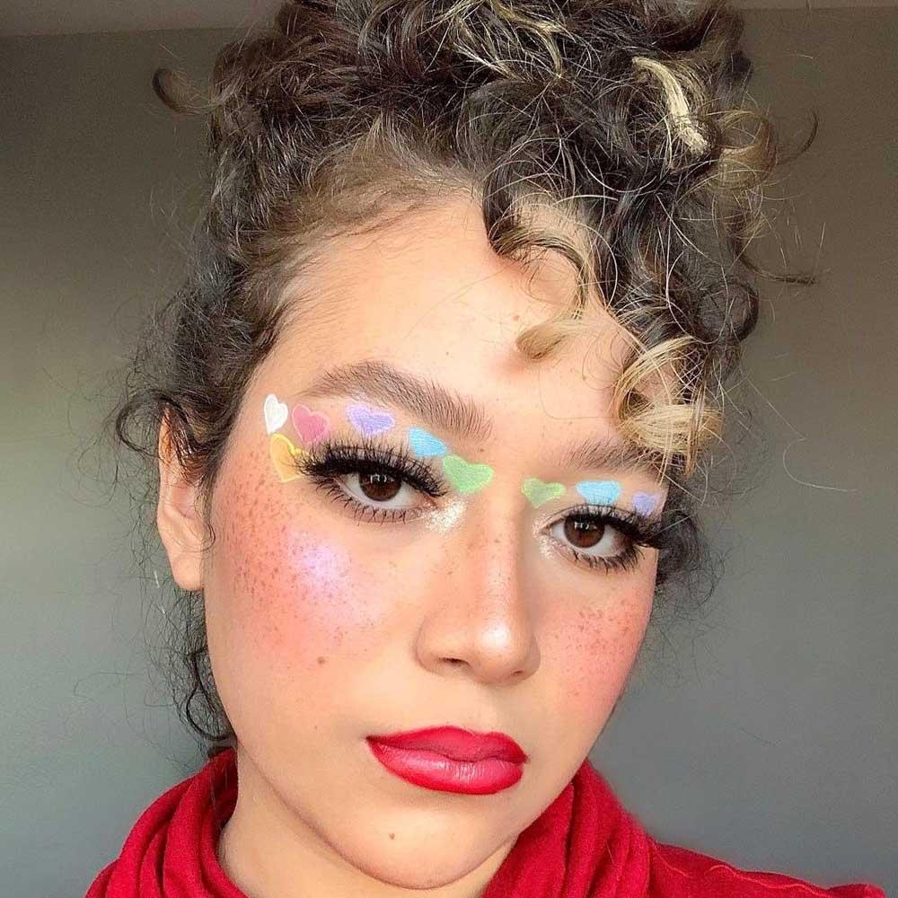 Maquillaje del Mes del Orgullo