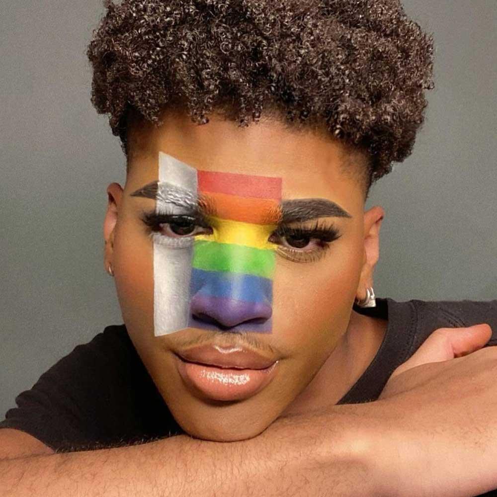 Maquillaje del orgullo
