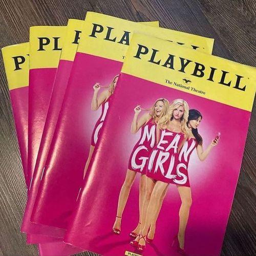 Playbill Means Girls