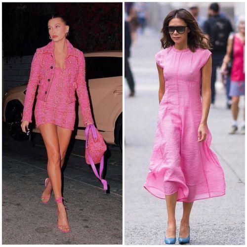 Outfits de rosa
