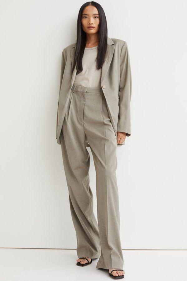 Catalogo hym otoño invierno 2021 2022 pantalon amplio traje