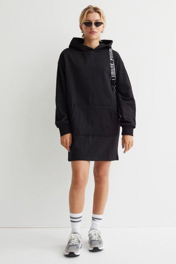 Catalogo hym otoño invierno 2021 2022 vestido sudadera
