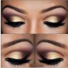 Cómo maquillar ojos marrones