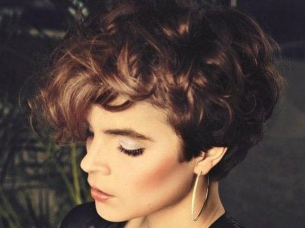 cortes de pelo moderno 2016 pelo corto rizado - Corte De Pelo Moderno