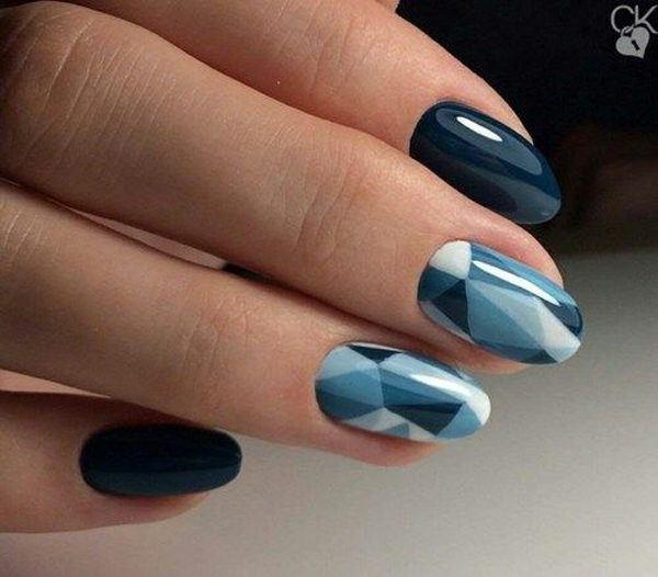 unas-acrilicas-tonos-azules