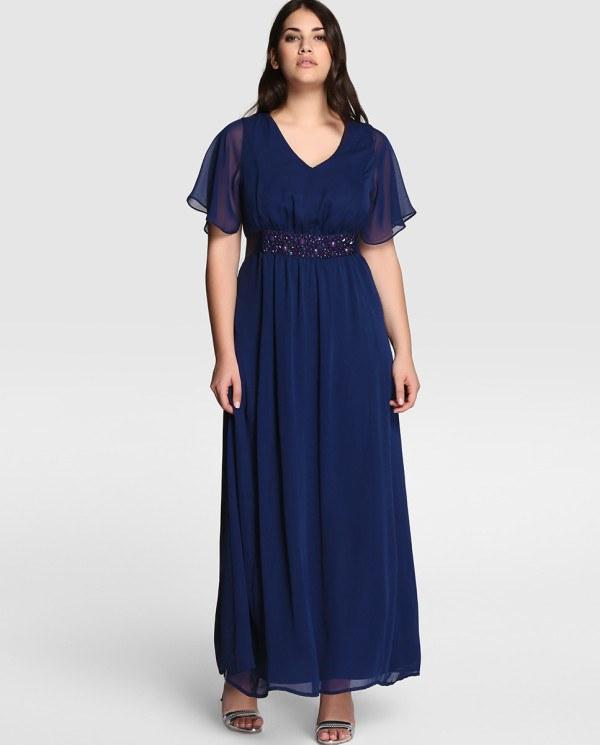 d75b1c516 de 50 Vestidos de fiesta para gorditas Verano 2019