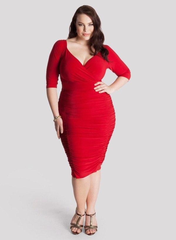 Vestidos elegantes para mujeres obesas