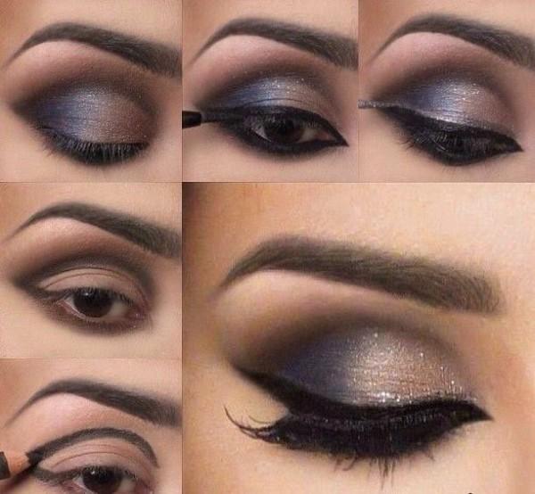 Cmo maquillar ojos marrones Blogmujerescom