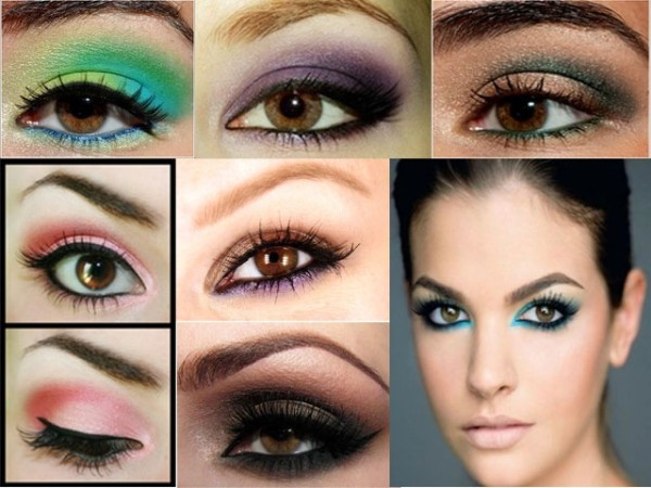 C mo maquillar ojos marrones for Sombras de ojos para ojos marrones