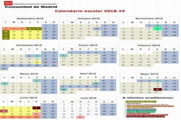 calendario-escolar-2018-2019-madrid